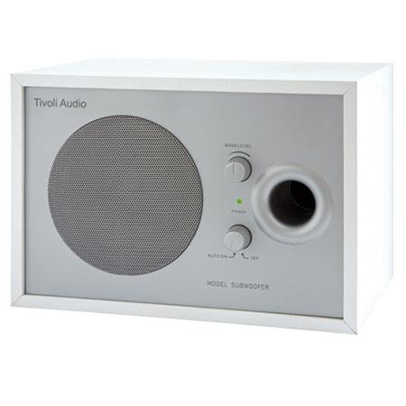 Tivoli Audio Model MSWHT Subwoofer Silver 168 - 256