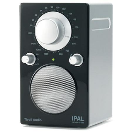 Tivoli Audio iPAL PALIPALB Portable Radio iPod High GlossSilver 72 - 704