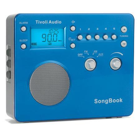 Tivoli Audio SBBLUS SongBook AMFM Travel Radio High Gloss Blue 251 - 763