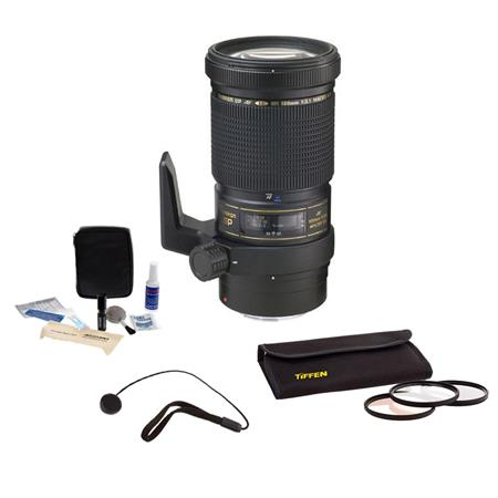Tamron SP f Di Macro LD IF Af Lens Kit Nikon AF Tiffen Photo Essentials Filter Kit Lens Cap Leash Pr 67 - 640