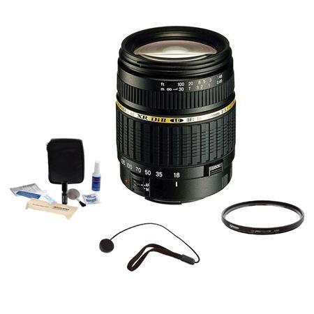 Tamron f XR DI II LD Aspherical IF Canon EOS Mount Lens Kit USA Warranty Tiffen UV Filter Lens Cap L 181 - 537