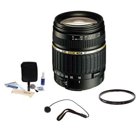 Tamron f XR DI II Built Motor LD Aspherical IF AF Nikon Mount Lens Kit USA Warranty Tiffen UV Filter 181 - 537