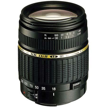Tamron f XR DI II BIM Built Motor LD Aspherical IF AF Zoom Lens Macro Nikon Digital SLR Cameras USA  18 - 577