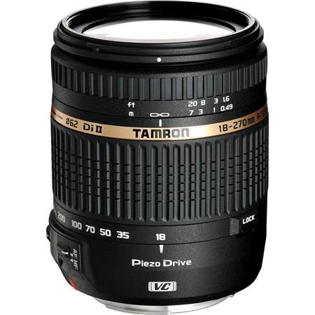 Tamron F DI II VC PZD Piezo Drive Ultrasonic Motor Aspherical IF AF Zoom Nikon AF Digital SLRs APS C 208 - 117