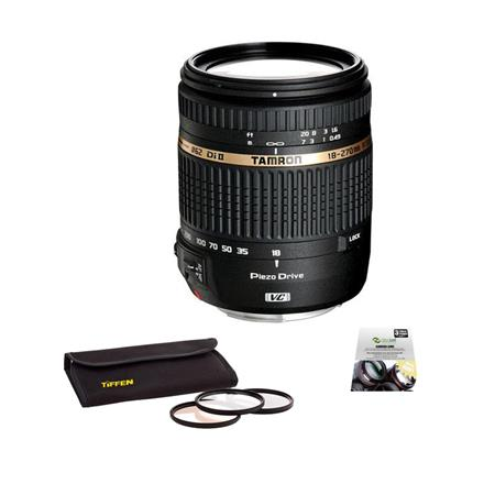 Tamron F DI II VC PZD Piezo Drive Ultrasonic Motor Aspherical IF AF Zoom Nikon Digital SLRs Bundle N 246 - 711