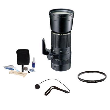 Tamron SP f Di Auto Focus Zoom Lens Kit Nikon AF D Year USA Warranty Tiffen UV Filter Lens Cap Leash 167 - 252