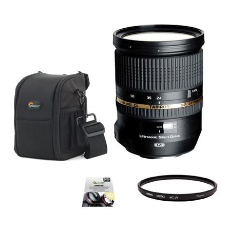 Tamron SP f Di VC USD Lens Canon EOS USA Warranty Bundle New Leaf Year Drops Spills Warranty Lowepro 53 - 392