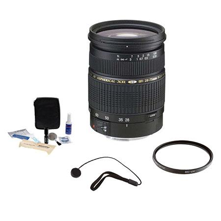 Tamron SP f XR Di LD IF AF Nikon Mount Lens Kit USA Warranty Tiffen UV Filter Lens Cap Leash Profess 81 - 558
