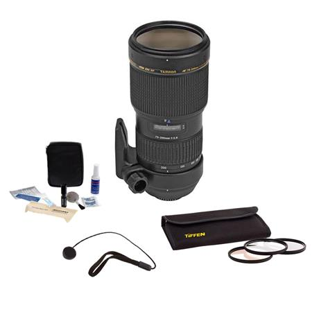 Tamron f DI LD IF Nikon AF Mount Lens Kit USA Warranty Tiffen Photo Essentials Filter Kit Lens Cap L 36 - 721
