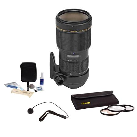 Tamron f DI LD IF Macro Canon Af EOS Mount Lens Kit USA Warranty Tiffen Photo Essentials Filter Kit  36 - 721