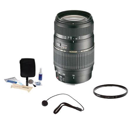 Tamron f Di LD AF Macro Canon EOS Mount Lens Kit Year USA Warranty Tiffen UV Filter Lens Cap Leash P 100 - 438
