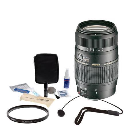 Tamron f Di LD Auto Focus Macro Zoom Lens Kit wBuilt Motor All Nikon Digital Cameras Tiffen UV Filte 73 - 385