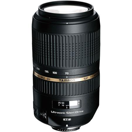 Tamron SP AF f Di VC Ultra Silent Drive USD Telephoto Zoom Lens Nikon AF D Mount 300 - 550