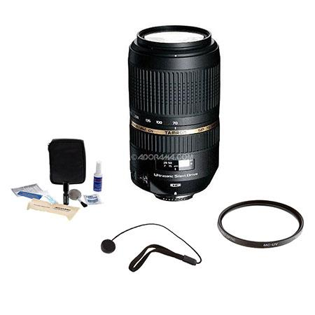 Tamron SP AF f Di VC Ultra Silent Drive USD Lens Kit for Nikon AF D Mount Pro Optic MC UV Filter Len 297 - 287
