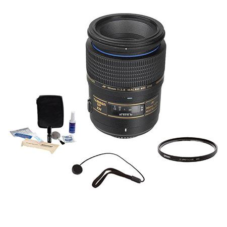 Tamron SP f Di AF Macro AF Lens Kit Nikon AF Year USA Warranty Tiffen UV Filter Lens Cap Leash Profe 43 - 580