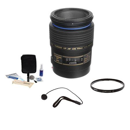 Tamron SP f Di AF Macro AF Lens Kit Maxxum Sony Alpha Mount wit Tiffen UV Ultra Violet Glass Filter  16 - 387