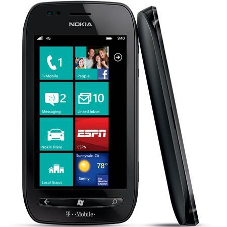 T Mobile Nokia Lumia Windows Phone Capacitive ClearBlack Touchscreen GHz Qualcomm Single Core Proces 41 - 300