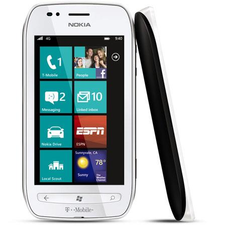 T Mobile Nokia Lumia Windows Phone Capacitive ClearBlack Touchscreen GHz Qualcomm Single Core Proces 63 - 786