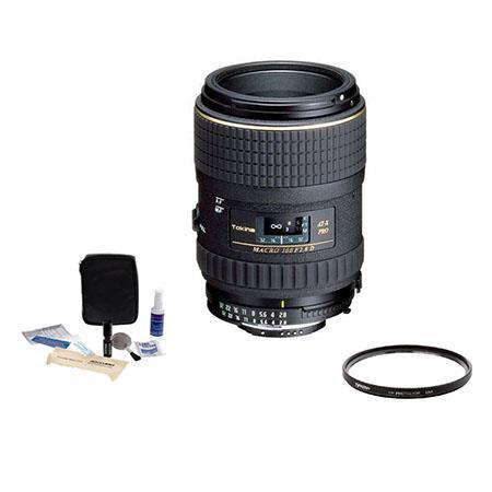 Tokina AT X f PRO D Macro Lens Kit Nikon AF Tiffen UV Filter Professional Lens Cleaning Kit 32 - 424