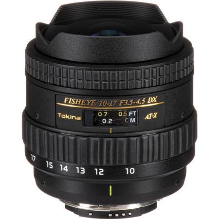 Tokina F DX Autofocus Fisheye Zoom Lens Nikon Digital SLR Cameras 106 - 610