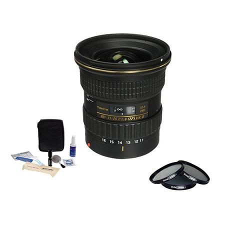 Tokina F ATX Pro DX Lens Canon APS C DX Digital SLR Cameras Bundle Pro Optic Digital Essentials Filt 247 - 304
