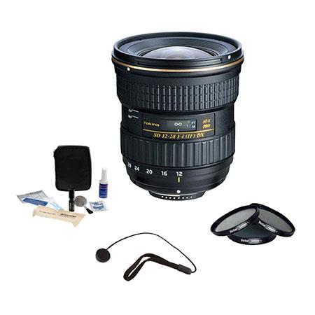 Tokina f AT X Pro APS C Lens Canon Bundle Pro Optic Filter Kit UV Slim CPL Neutral Density ND Cleani 71 - 319