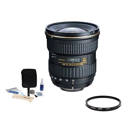 Tokina f AT X Pro DX Lens Nikon Bundle HOYA NXT Low Profile Circular Polarizer Filter and Adorama A  116 - 313