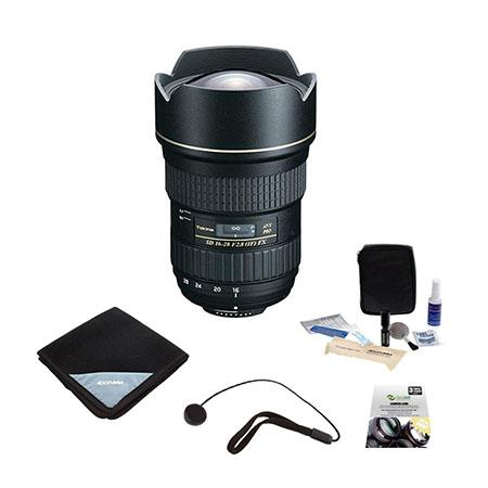 Tokina F ATX Pro FX Zoom Lens Canon EOS DSLR Cameras Bundle New Leaf Year Drops Spills Warranty Flas 208 - 177