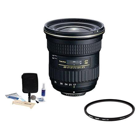 Tokina F AT X Pro FX Lens Canon EOS Digital SLR Cameras Bundle HOYA Low Profile HMC NXT UV Filter an 170 - 398