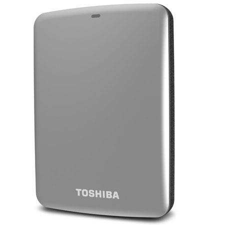 Toshiba Canvio Connect TB Portable External Network Hard Drive USB RPM Silver 155 - 298