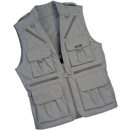 Tamrac World Correspondents Vest Medium Khaki 103 - 6