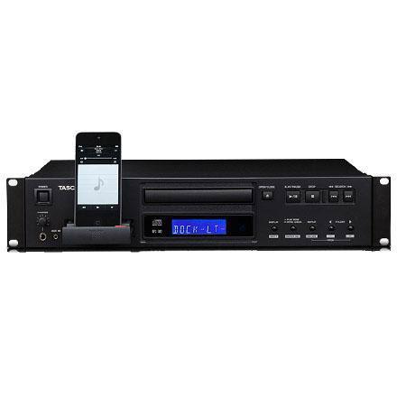 Tascam CD i Rackmountable CD Player iPod Dock iPod Music Player Stereo Headphone Output Wireless Key 119 - 192