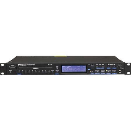 Tascam CD B Single Rackspace CD Player Balanced Hz kHz Frequency Response dB Dynamic Range 257 - 398