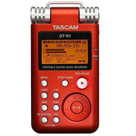 Tascam GT R Portable GuitarBass Recorder Up to bitkHz Recording 24 - 712