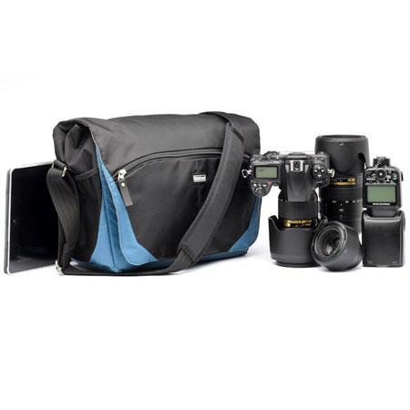 Think Tank CityWalker Messenger Bag Blue Slate Nylon 218 - 413