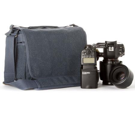 Think Tank Retrospective BL Small Shoulder Bag Blue Slate Cotton Canvas 58 - 624