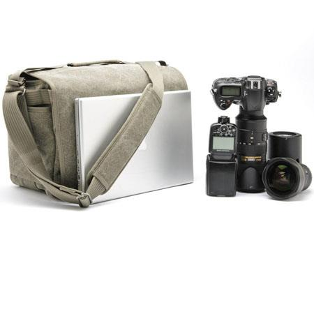 Think Tank Retrospective Shoulder Bag Pinestone Cotton Canvas 38 - 390