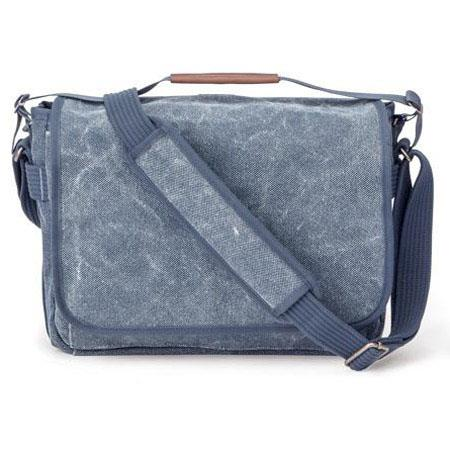 Think Tank Retrospective Laptop Blue Slate Case Fits Tablet and accessories 118 - 138