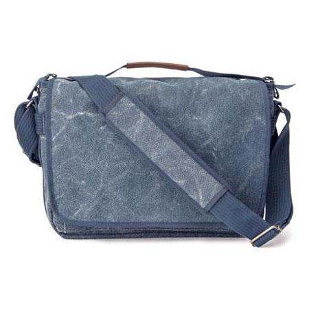 Think Tank Retrospective Laptop Blue Slate Case Fits Laptop Tablet and accessories 69 - 474