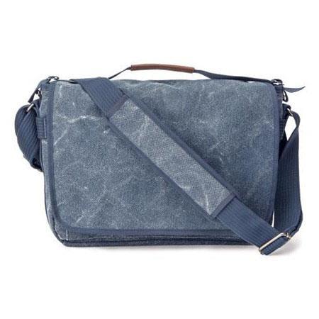 Think Tank Retrospective Laptop Blue Slate Case Fits Laptop Tablet and accessories 258 - 439