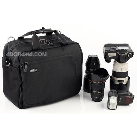 Think Tank Urban Disguise Pro V Shoulder Bag Holds Pro DSLR Lens Attached 145 - 474