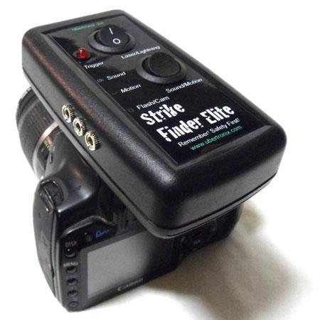 UbertroniStrike Finder Elite RSE Cable Canon Cameras Lightning Laser Sound Motion 278 - 410