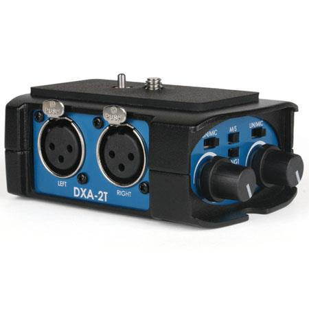 Beachtek DX AT Tough Dual XLR Compact Audio Adapter all Camcorders 151 - 37