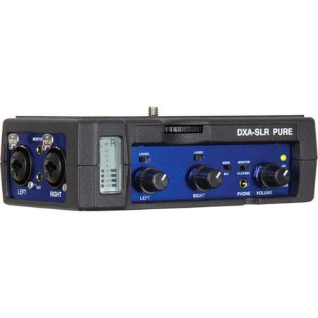 Beachtek DXA SLR Pure Passive Audio XLR Adapter DSLR Cameras 182 - 788