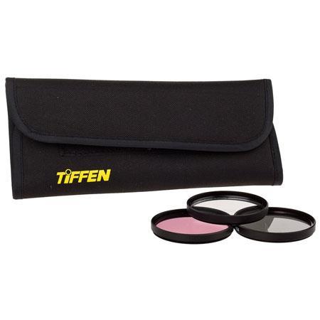 Tiffen Deluxe Filter Kit Ultra Violet FL D Neutral Density Filters 116 - 653