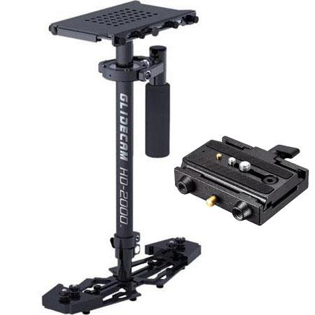Glidecam HD Stabilizer System Small Sized Video Cameras up to Lbs Bundle Manfrotto Rapid Connect Ada 37 - 474