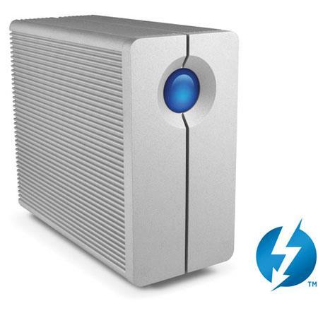 LaCie big Thunderbolt TB Bay RAID Hard Drive rpm Rotational Speed MBs Read MBs Write Transfer Rate 121 - 566