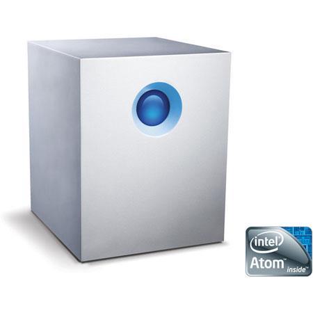 LaCie big NAS Pro Hybrid Cloud RAID Diskless Hard Drive Dual Core GHz Intel Atom Processor 65 - 314