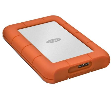 LaCie TB Rugged Mini Portable External Hard Drive RPM USB Up to Gbps USB Transfer Rate  133 - 423