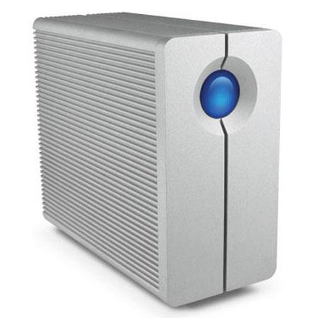 LaCie TB big Quadra Hard Disk Two Bay RAID Drive Up to MBs Transfer Rate USB rpm Rotational Speed 109 - 58